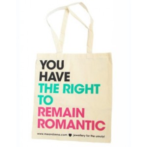 £6 from CultureLabel: http://www.culturelabel.com/romantic-rights-canvas-tote-bag.html